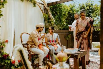 Intimate Backyard Indian Wedding – Carmelisse Photography – Leilani Weddings 4