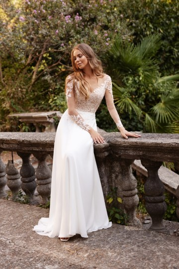 Ultra-Stylish New Wedding Dresses By Mila Bridal (For Under 1000) – Bonita Dress – Bridal Musings 4