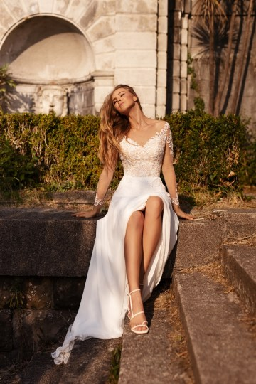 Ultra-Stylish New Wedding Dresses By Mila Bridal (For Under 1000) – Bonita Dress – Bridal Musings 5