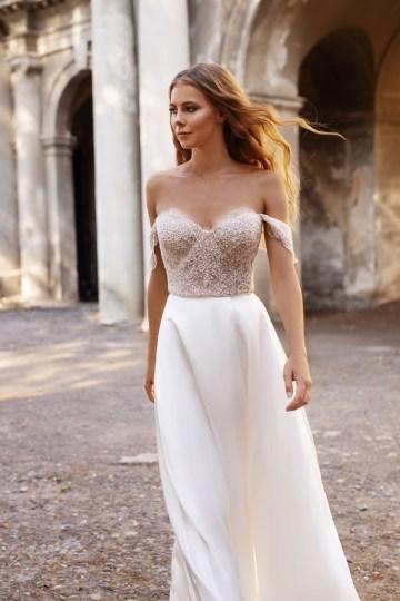 Ultra-Stylish New Wedding Dresses By Mila Bridal (For Under 1000) – Lola Dress – Bridal Musings 8