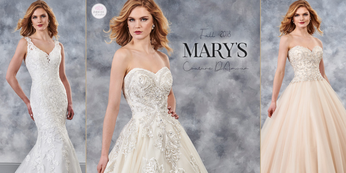 Mary's Bridal: Couture D'Amour Wedding Dresses