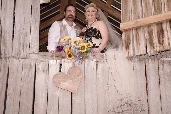 Rustic Real Wedding in the Mountains
