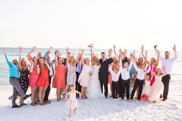 Florida Beach Real Wedding