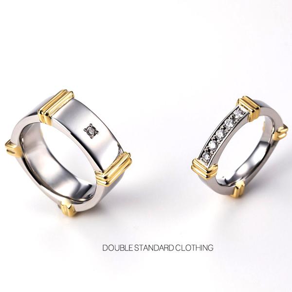 ダブルスタンダード,ダブスタ,結婚指輪,DOUBLE STANDARD,マリッジリング,ブライダル,静岡