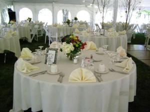 rentals & tents, 2011 weddings