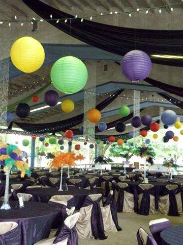 tents, tables, chairs, dishes, linens, party supplies, glasses,
