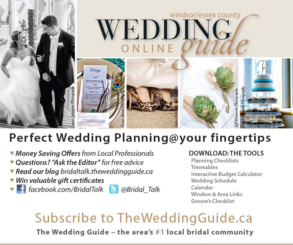Area brides ask for the wedding guide the wedding guide planning for perfect wedding planning your fingertips area brides trust the time honoured advice of the wedding guide windsoressex county online and in print junglespirit Images