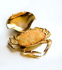 Baked Fresh Crab Shell