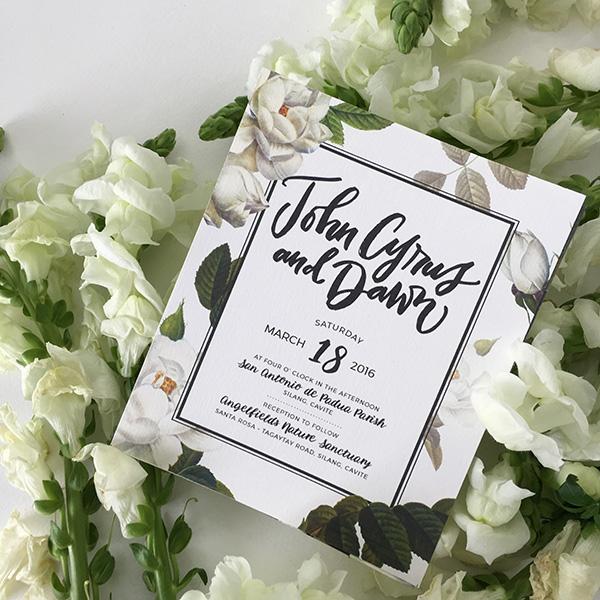 Parts Of A Wedding Invitation Philippines Blog