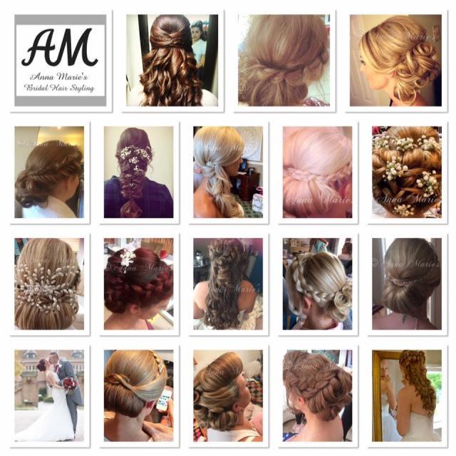 anna marie's (heavenly hair)   wedding beauty, hair and make