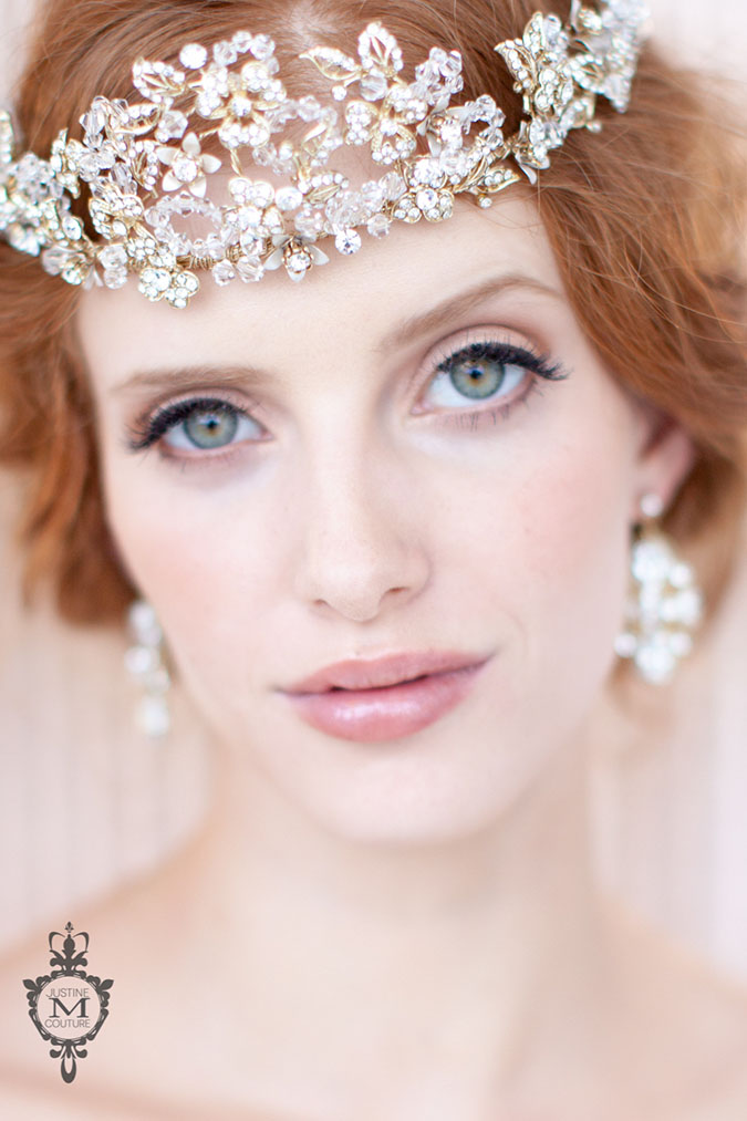 New Arrival Justine M Couture Headpieces At The Bridal