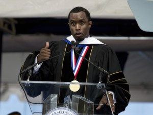 Diddy giving speech image