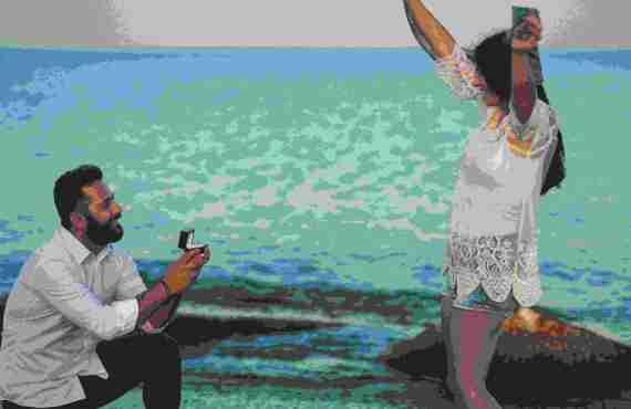 Ρομαντική Πρόταση Γάμου στη Λεμεσό
