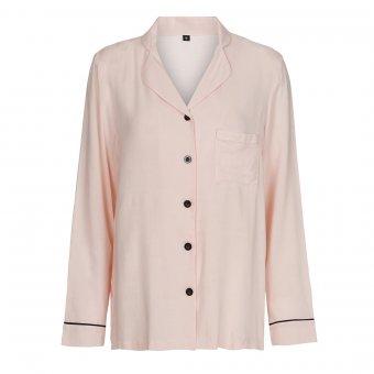 lyserød pyjamas top