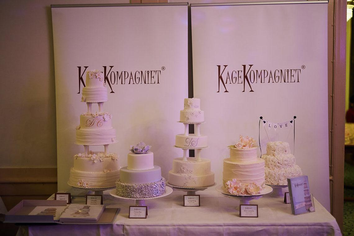 kagekompagniet viser brylupskager