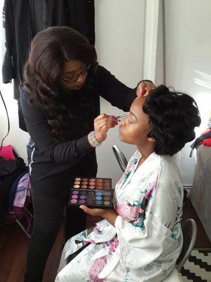 black makeup artist london, makeup artist for black skin, black bridal makeup artist, wedding makeup artist for black skin, makeup for dark skin london
