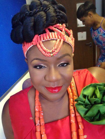 black makeup artist london, makeup artist for black skin, wedding makeup artist for dark skin, nigerian bride, bridal black makeup artist, joy adenuga, black bridal blog uk, red lips for dark skin, red lips for black skin