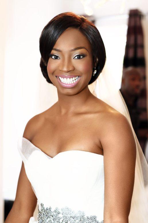 joy adenuga, Ajiri's Wedding, black makeup artist london, london makeup artist for black skin, perfect events uk, adebayo deru, ao media, miss papachichi, bridal pink. pink lips for black skin