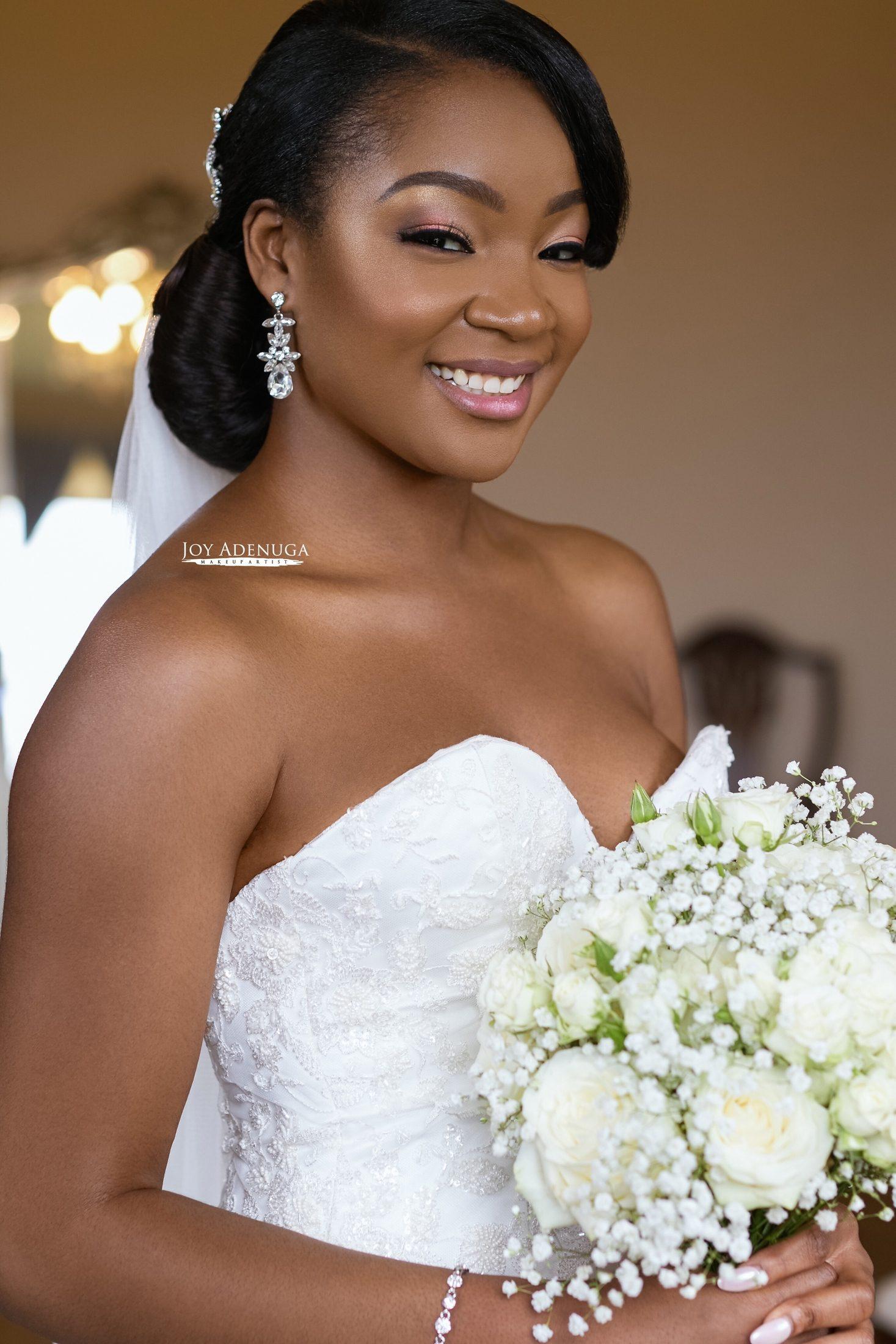 Joy Adenuga | Black Bridal Makeup Artist London