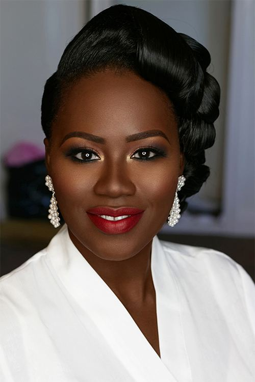 Joy Adenuga   Black Bridal Makeup Artist London