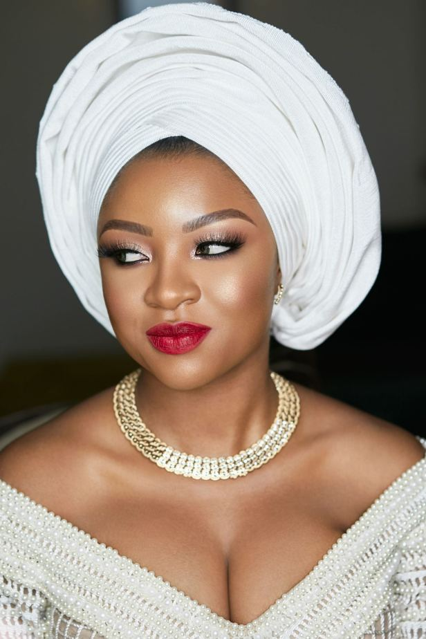Tola's Wedding, Yoruba bride, Joy Adenuga, black bride, black bridal blog london, london black makeup artist, london makeup artist for black skin, black bridal makeup artist london, makeup artist for black skin, nigerian makeup artist london, makeup artist for women of colour, Melanin bride, black beauty