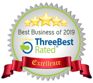 Best Business Award of 2019, Three Best Rated for excellence Oshawa 2018