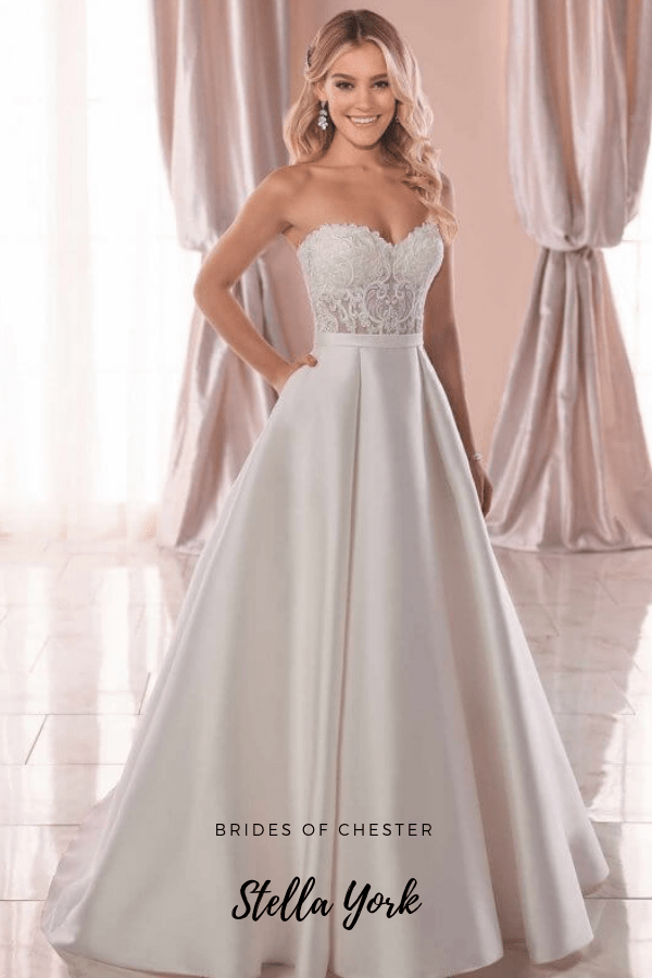 Brides of Chester introduces Stella York 6763