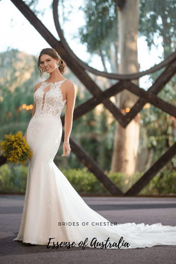 Brides of Chester introduces Essense D2835