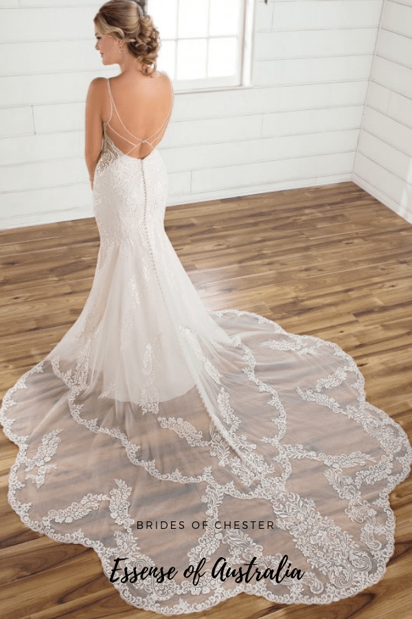 Brides of Chester introduces Essense of Australia D2835 Wedding Dress