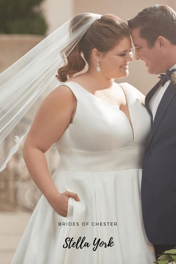 Brides of Chester introduces Stella York 6758 Plus