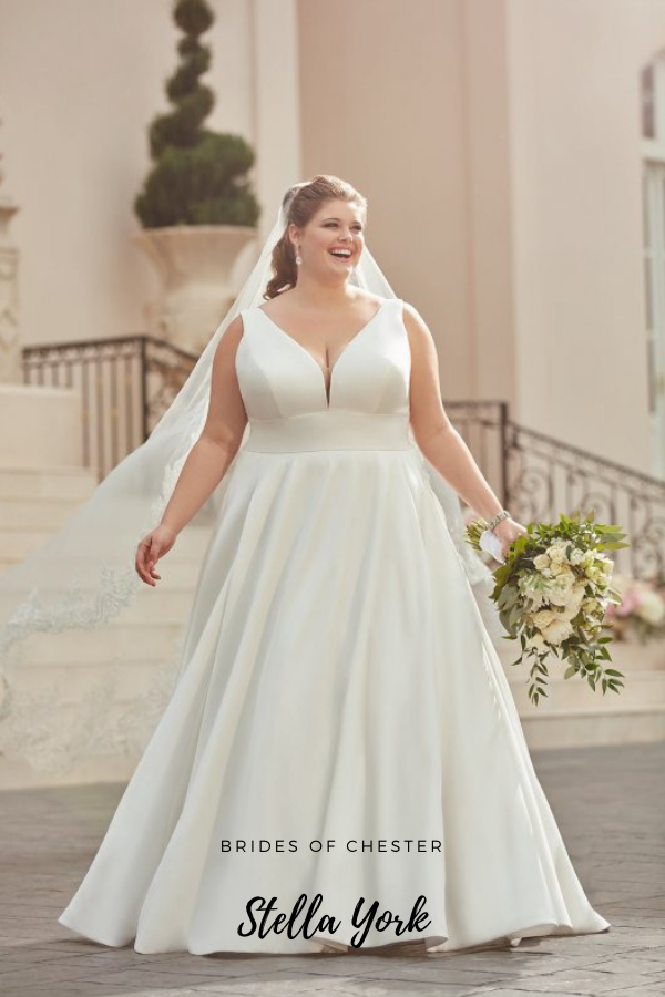 Brides of Chester introduces Stella York 6758 Plus