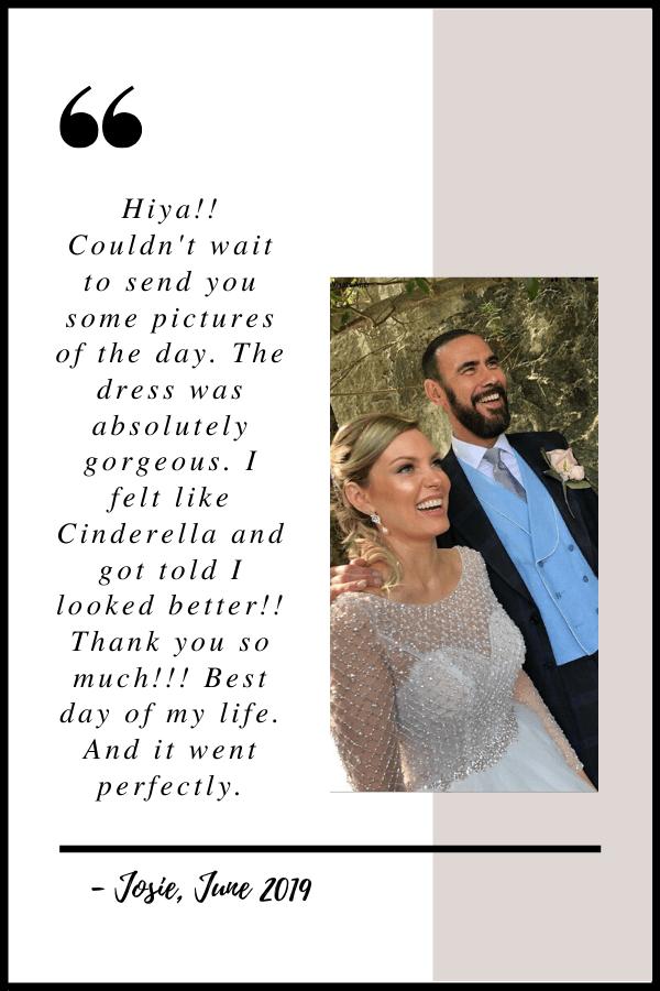 June 2019 Testimonial by Josie