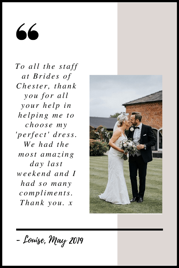 May 2019 Testimonial by Louise