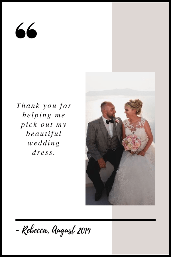 August 2019 Testimonial by Rebecca