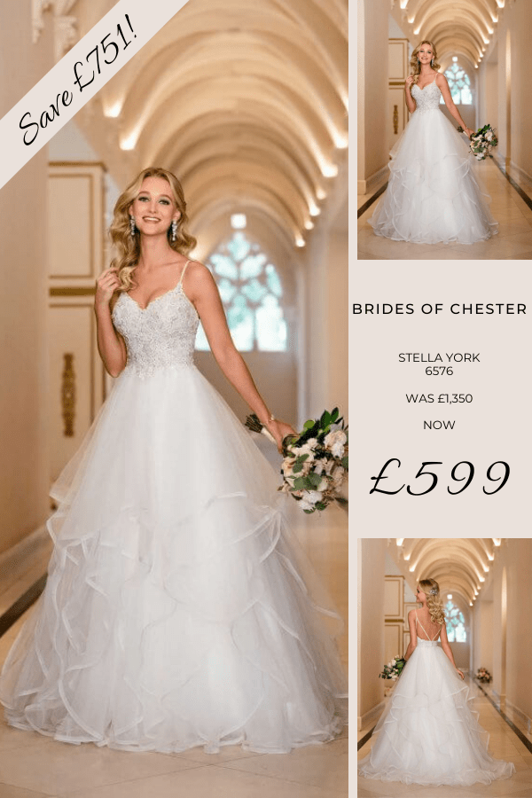 Brides of Chester introduces Stella York 6576