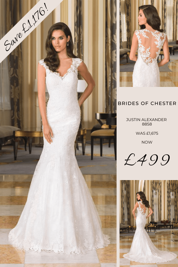 Brides of Chester introduces Justin Alexander 8858