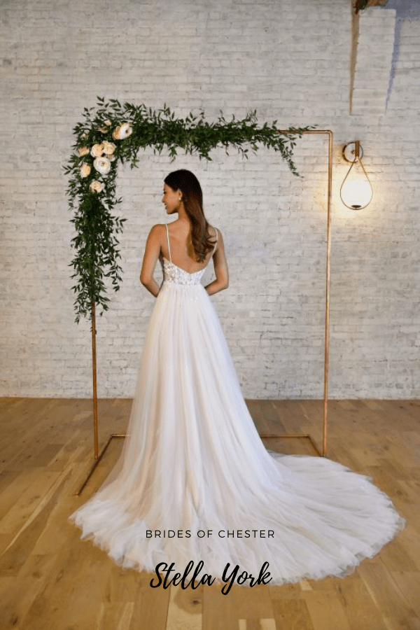 Brides of Chester introduces Stella York 7340