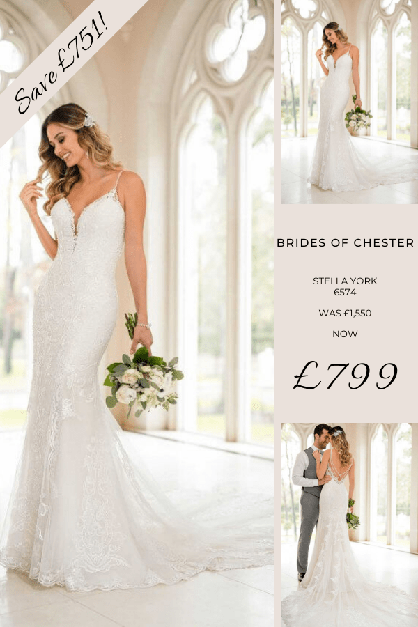 Brides of Chester introduces Stella York 6574