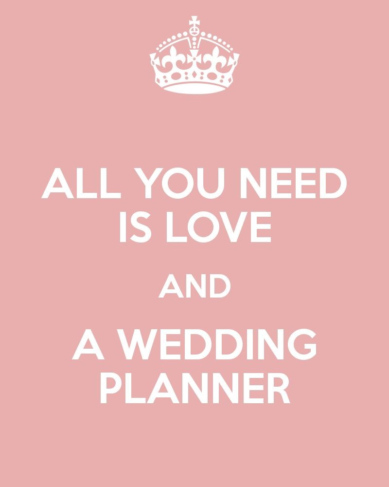 A Wedding Planner: Yes or No?