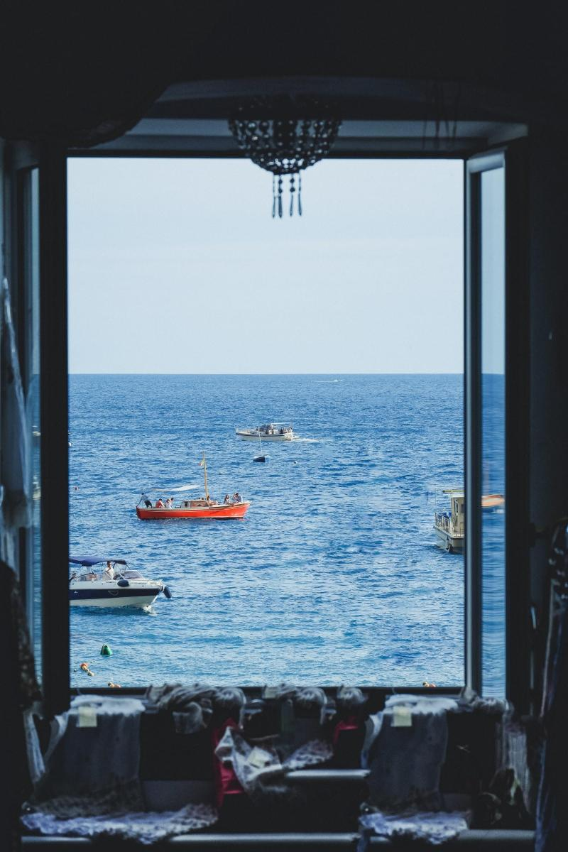 Italian Riviera Wedding Style