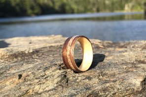 Interview with Atelier dubon bouleau Handcrafted Wood Rings and jewelry