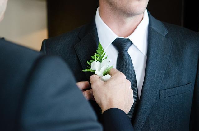 wedding suit, dapper