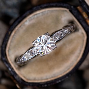 Classic 1.76 ctw Round Cut Solitaire Diamond Engagement Ring 14k White Gold Over