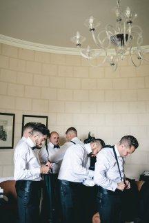 A Black Tie Wedding at Swinton Park (c) M&G Photography (10)