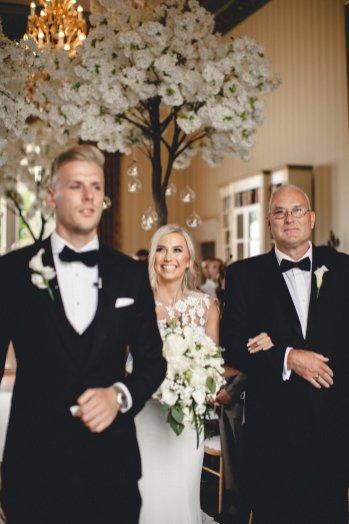 A Black Tie Wedding at Swinton Park (c) M&G Photography (17)