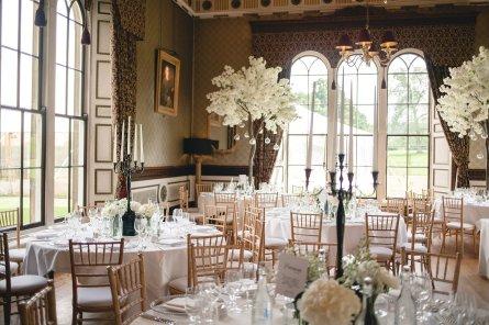 A Black Tie Wedding at Swinton Park (c) M&G Photography (30)
