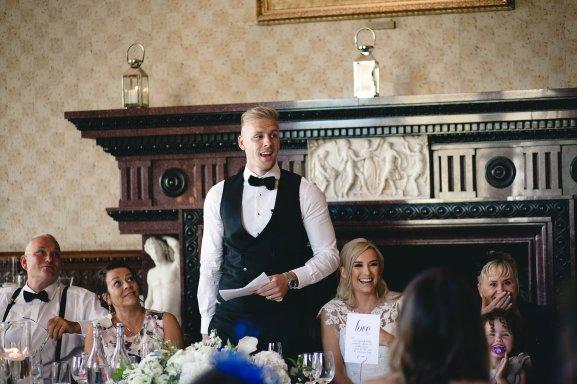 A Black Tie Wedding at Swinton Park (c) M&G Photography (40)