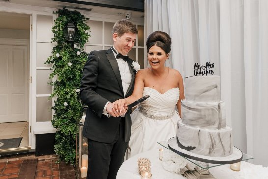 A Chanel Themed Wedding at Delamere Manor (c) Sarah Glynn (55)