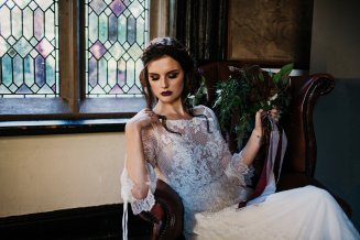 A Gothic Styled Shoot at Samlesbury Hall (c) Sarah Longworth Photography (17)