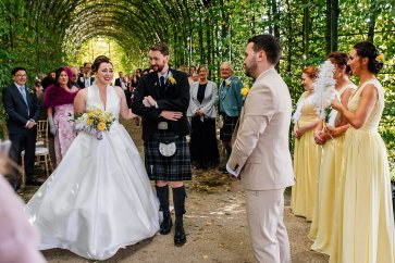 A Stylish Wedding at Alnwick Garden (c) Michal Ufniak (39)